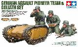 35357 German Assault Pioneer Team & Goliath Set