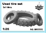 BM3566 Used tire set, 1/35