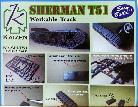 KZ-SH-T51 Sherman T51 Workable track