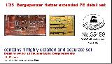 35459 1/35 PE Detail Set for German Bergepanzer Hetzer