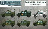 35214 Decals for LMV Lince in Spain