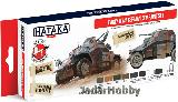 "HTK-AS88 ""Early WW2 German AFV "" (paint set 8 x 17ml)  High quality water-based, acrylic paints."