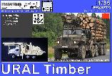 PS35279 URAL Timber & pole trailer (Trumpeter)