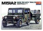 13012 M151A2 Hard Top with Trailer