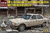 35013  70's German made Civilian car with IED accessories