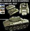 BL35026K   WORLD WAR II M24 CHAFFEE STOWAGE SET - RT 10/2018